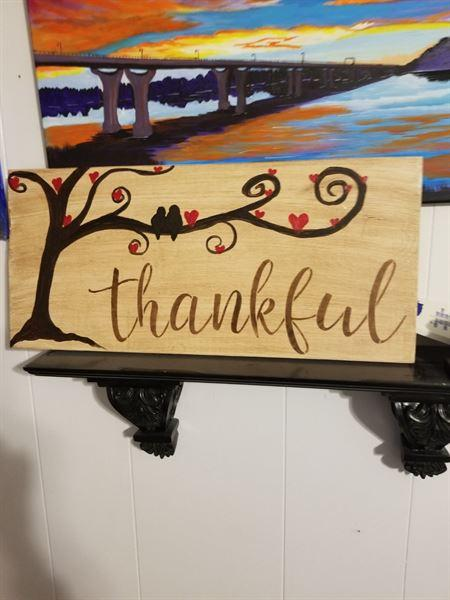 Mellena Helton verified customer review of Grateful, Thankful, Blessed Stencil Set