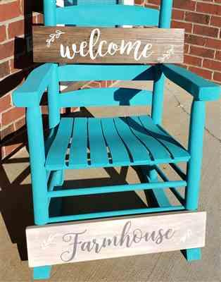 Elizabeth King verified customer review of Gather, Welcome, Farmhouse Stencil Set