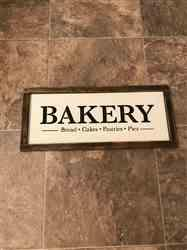 Marilyn W. verified customer review of Bakery Sign Stencil