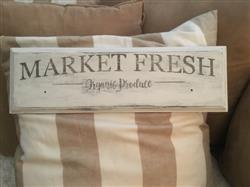Debra L. verified customer review of Market Fresh Sign Stencil