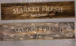 Melissa Y. verified customer review of Market Fresh Sign Stencil