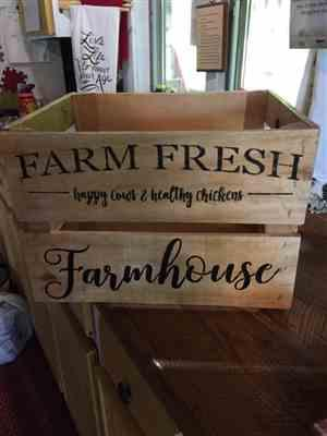 Cindy A. verified customer review of Market Fresh Sign Stencil