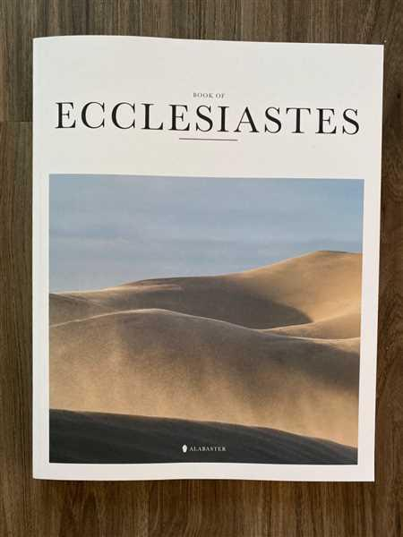 Alabaster Co Ecclesiastes (Softcover) Review
