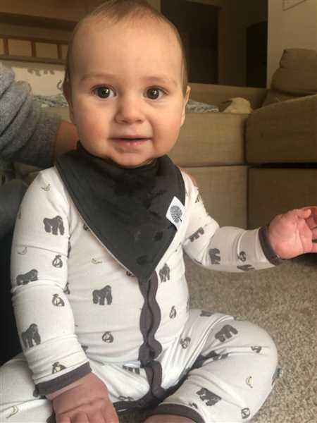 Sierra Johnson verified customer review of Lumberjack Bandana Bib Set