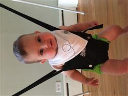 Jillian D. verified customer review of Bikes Bandana Bib Set