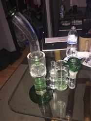 Oscar M. verified customer review of Thick 7mm Double Honeycomb Perc Bong