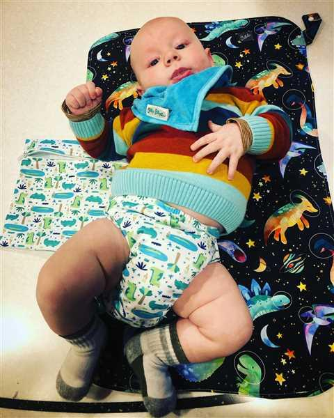 Bellelis PUL Candie All in Two Complete Nappy - Bubblebubs Review