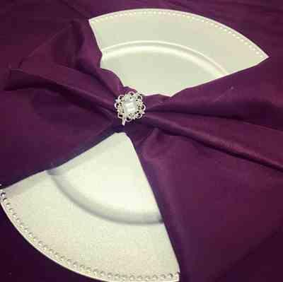 Heide R. verified customer review of CRYSTAL NAPKIN RING