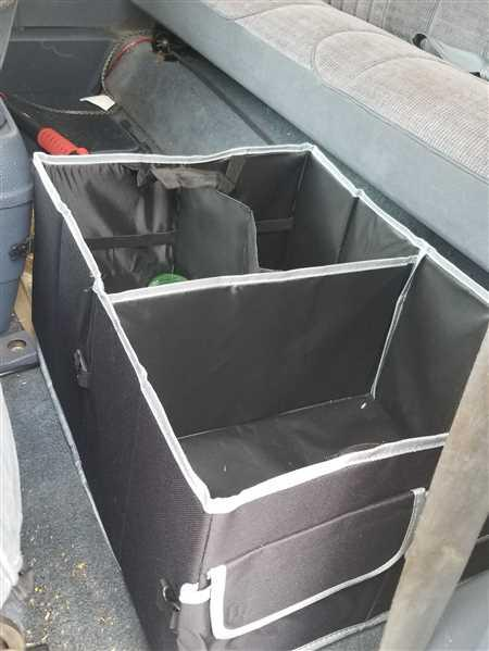 Rose verified customer review of TRUNK ORGANIZER-LARGE