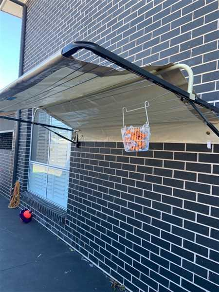 Belinda Vieira verified customer review of Fold Down Clothesline Cover 2.1m to 2.4m