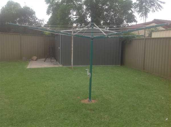 Steve L. verified customer review of Hills Hoist 8 Line Rotary Clothesline