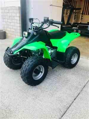 Jake K. verified customer review of Body Fender Kit for Chinese ATV - Kazuma Meerkat Wombat - GREEN