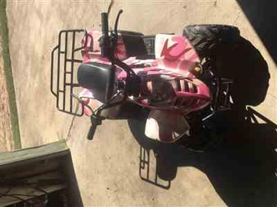 Jerome Kubes verified customer review of Body Fender Kit for Chinese ATV - Coolster 3050C - 1 piece - Pink Camo
