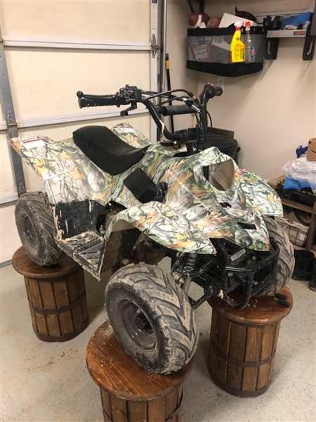 VMC Chinese Parts Body Fender Kit for Chinese ATV - 2 piece - White Tree Camo Review