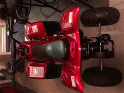 Dan C. verified customer review of Chinese ATV Body Fender Kit - 2 piece - Red Shiny