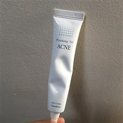 Anonymous verified customer review of Acne Spot Cream 15ml