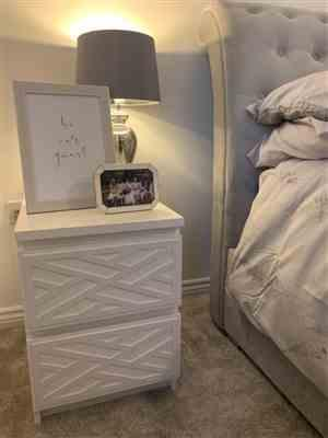 LUX HAX Styl-Panel Kit: #1121 to suit IKEA Malm 2-drawer bedside table Review