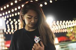 Jenell P. verified customer review of Kawaii Artemis Pocket Tee