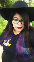 bridgette r. verified customer review of Glitter Magical Pocket Tee
