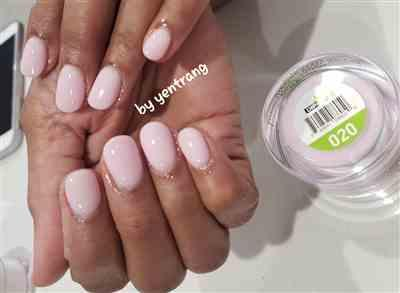Yen Trang verified customer review of DIP n' DUO Healthy Natural Nails Dipping System ( 4-IN-1 Matching 1-30)