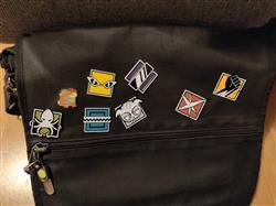qwarkster verified customer review of Six Siege Alibi Operator Icon Pin - 6 Collection