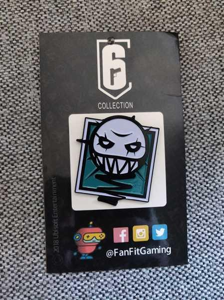 FanFit Gaming Six Siege Ela Operator Icon Pin - 6 Collection Review
