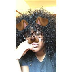 Janel R. verified customer review of Outre Half Wig Batik Dominican Curly Bundle Hair
