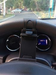 Clay Cardiel verified customer review of Universal Steering Wheel Phone Holder