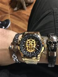 John Friend verified customer review of Golden Legend™ - Skull Luxury Wrist Watch