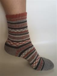 Vita Searles verified customer review of Cozy Striped Winter Wool Socks Set