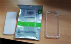 Julie Rodriquez verified customer review of Shock Proof Transparent Silicone Case for Iphone