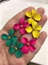 Tracie Kittleson verified customer review of Summer Bloom Floral Earrings