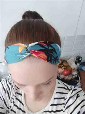 Barbara Garcia verified customer review of Summer Hairband Twist Turban