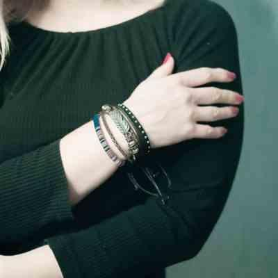 Marie Thomason verified customer review of Woven Leather and Rope Bracelet Set