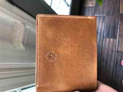 Michelle G. verified customer review of Leather Bifold Wallet