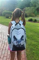 Anonymous verified customer review of Life Is Full Of Sunshine Cat Backpack (17)