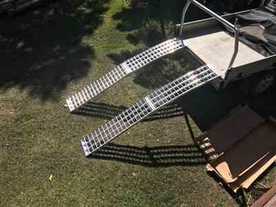 Ramp Champ Heeve 3m x 1-Tonne Aluminium Curved Folding Heavy-Duty ATV Ramps Review