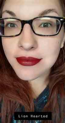 Shawnna S. verified customer review of Matte Liquid Lipstick LION HEARTED