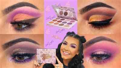 Danah Clipa verified customer review of Heaps Of Sweets Palette by Shaaanxo