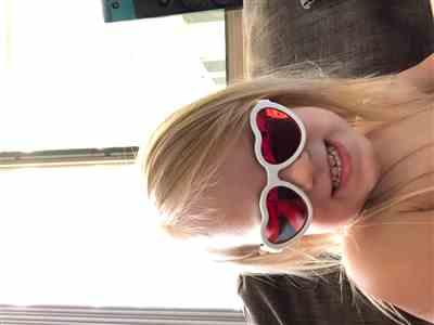 Hayley Scargill verified customer review of Blue Series - Sweethearts - Polarized Babiators
