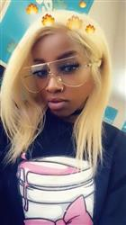 Tiana  verified customer review of Shela Hair Transparent Lace Front Wig #613 Blonde 150% Straight Water Color Easily