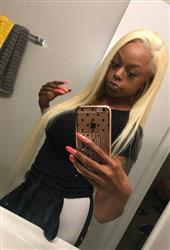 Shelahair Transparent Full Lace Wig #613 Blonde Straight 150% Density Shela Hair Review