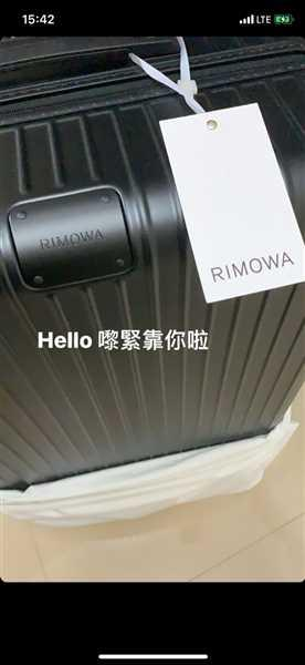 Chris Yau verified customer review of RIMOWA Original 日默瓦 平行進口