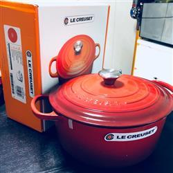 Jimmy T. verified customer review of Le Creuset 鑄鐵鍋 紅 Cerise