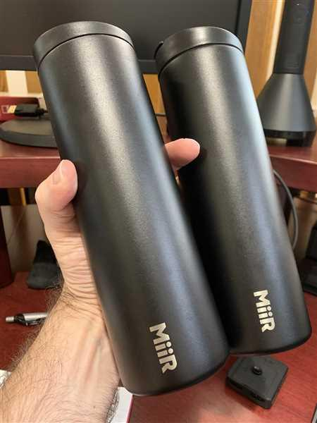 Eric Zeigler verified customer review of Travel Tumbler