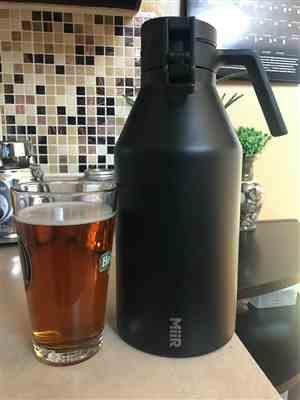 Andy Little verified customer review of 64oz Growler
