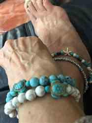 Lynda S. verified customer review of Sea Turtle Bracelet Stack