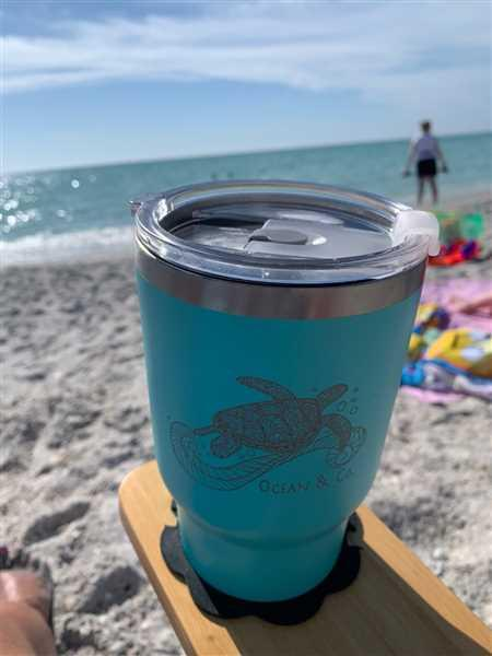 Patti Kenworthy verified customer review of Sea Turtle Tumbler