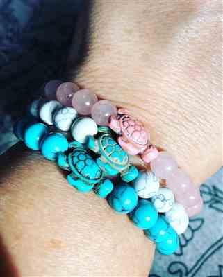 Shelley Weidner verified customer review of LIMITED EDITION - Pink Sea Turtle Bracelet
