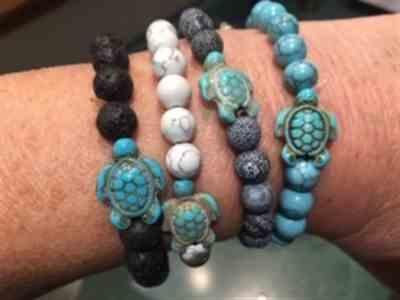 Judy Mantyla verified customer review of LIMITED EDITION - Pink Sea Turtle Bracelet